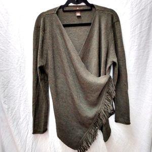 Fenn Wright Manson Merino Fringe Cardigan Sweater